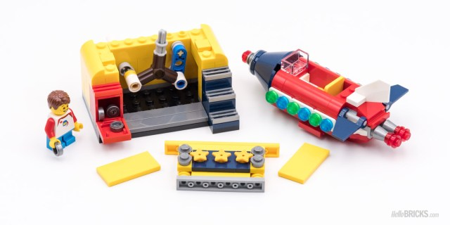 REVIEW LEGO Ideas 40335 Space Rocket Ride