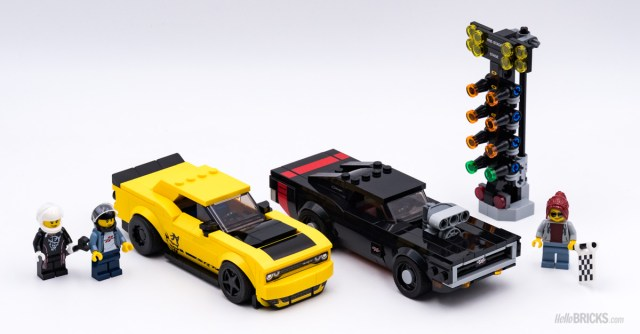 REVIEW LEGO 75893 2018 Dodge Challenger SRT Demon and 1970 Dodge Charger R/T