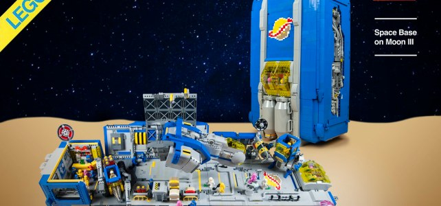 Space Base on Moon Neo Classic Space