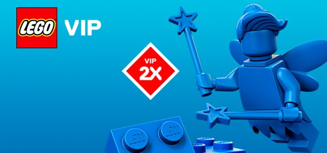 new LEGO VIP x2