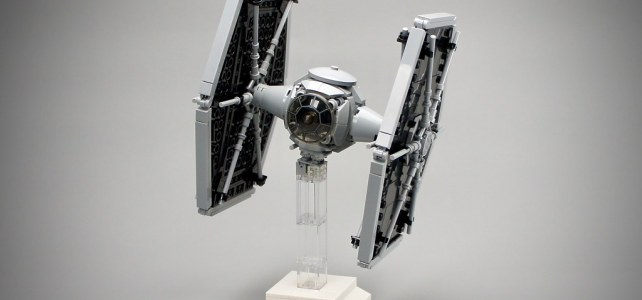LEGO Star Wars TIE fighter midiscale