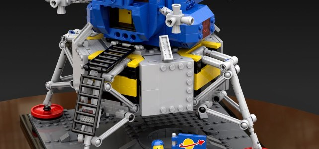 NASA Apollo 11 Lander LEGO Classic Space