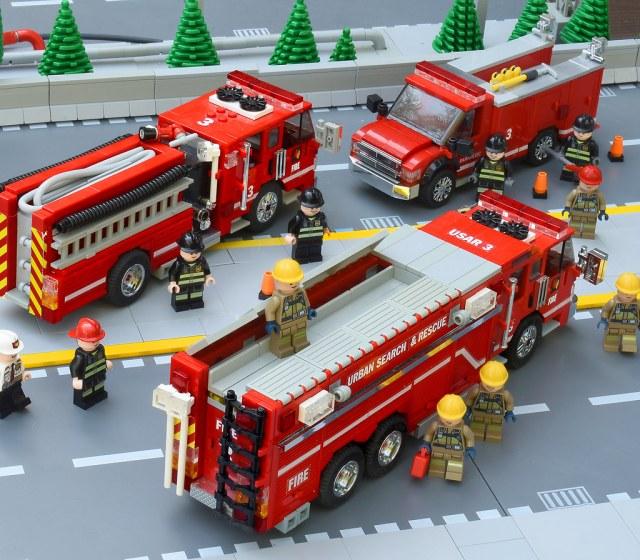 LEGO Fire Brigade