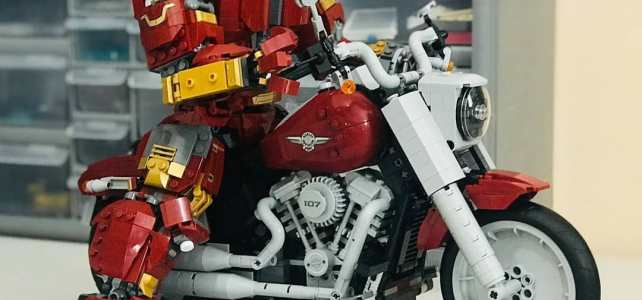 LEGO Harley Buster Iron Fat Boy