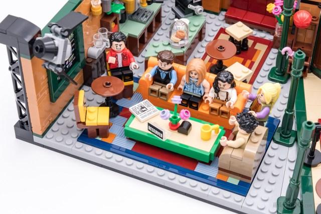 REVIEW LEGO Ideas 21319 Central Perk Friends