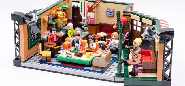 REVIEW LEGO Ideas 21319 Central Perk (Friends)