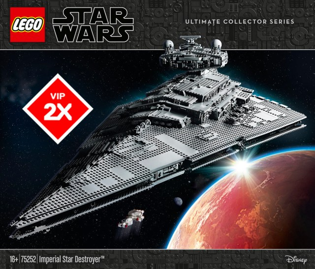 LEGO Star Wars 75252 Imperial Star Destroyer UCS VIP