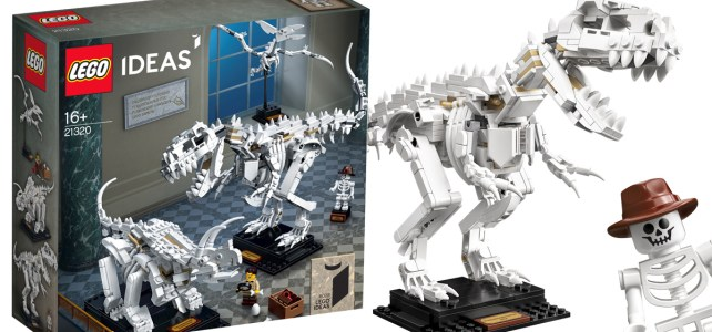 LEGO Ideas 21320 Dinosaur Fossils : l'annonce officielle