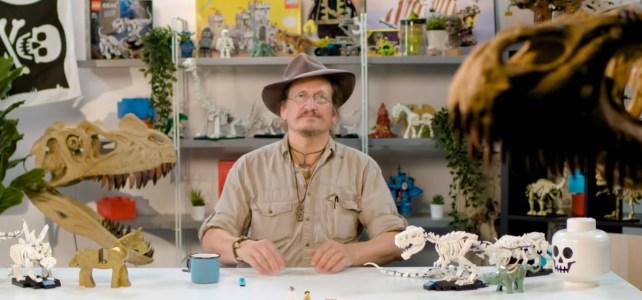 LEGO Ideas 21320 Dinosaur fossils designer video