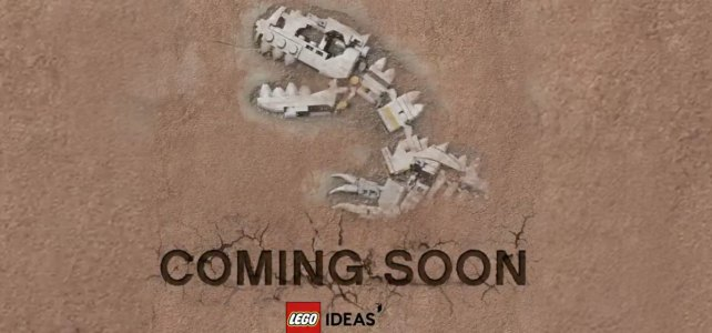 LEGO Ideas Dinosaurs Fossils Skeletons Natural History Collection