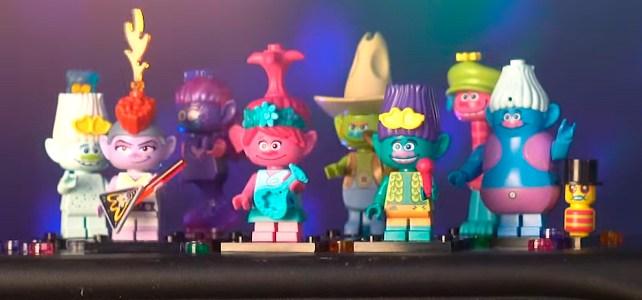 LEGO Trolls World Tour teasing