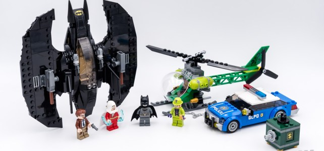 REVIEW LEGO 76120 Batwing