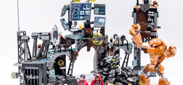 REVIEW LEGO 76122 Batcave Clayface Invasion