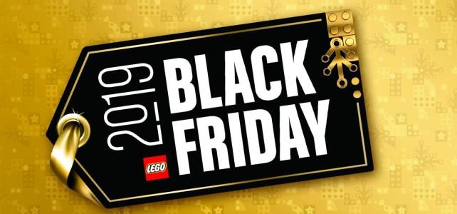 Black Friday LEGO Brick Friday 2019