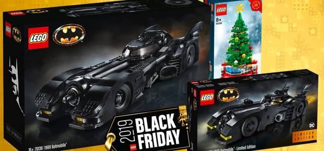 LEGO 76139 1989 Batmobile Black Friday