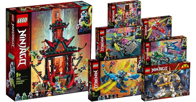 Nouveautés LEGO Ninjago 2020