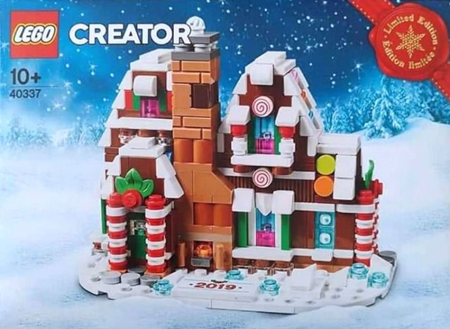 LEGO 40337 Gingerbread House 2019