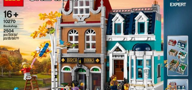LEGO Creator Expert 10270 Bookshop : l'annonce officielle du Modular 2020 !