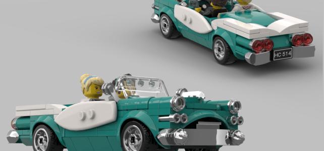 LEGO Ideas Vintage car winner