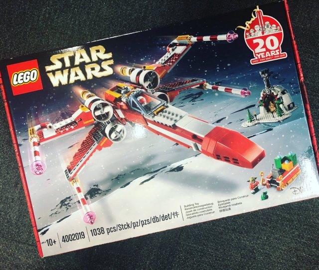 LEGO Star Wars 4002019 Christmas X-Wing