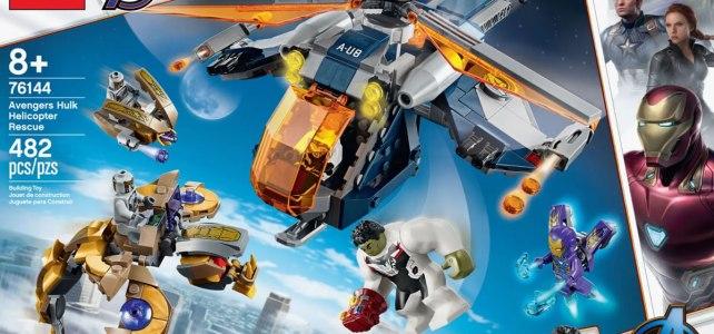 LEGO 76144 Avengers Hulk Helicopter Rescue