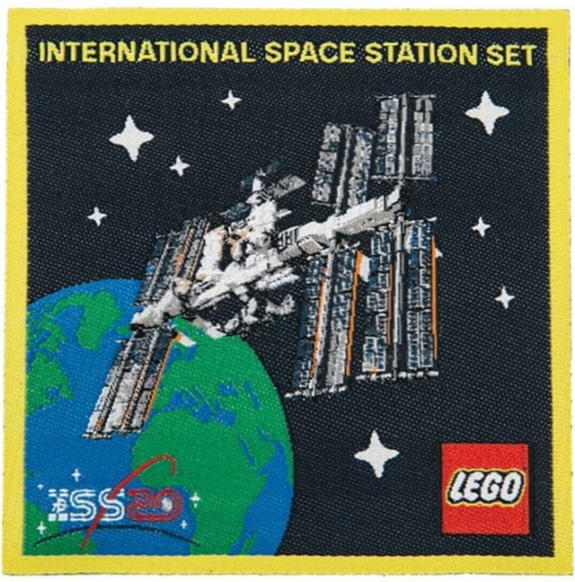LEGO 5006148 ISS patch