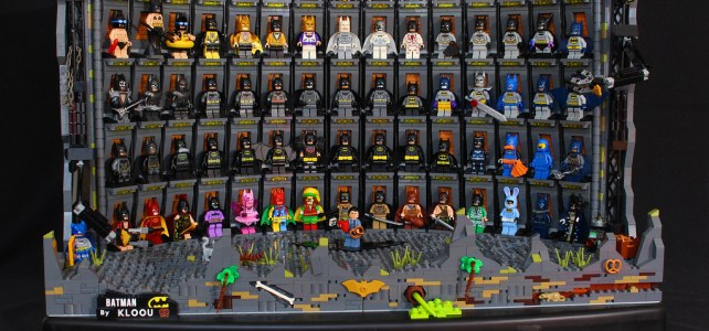 LEGO Batman Hall of suits