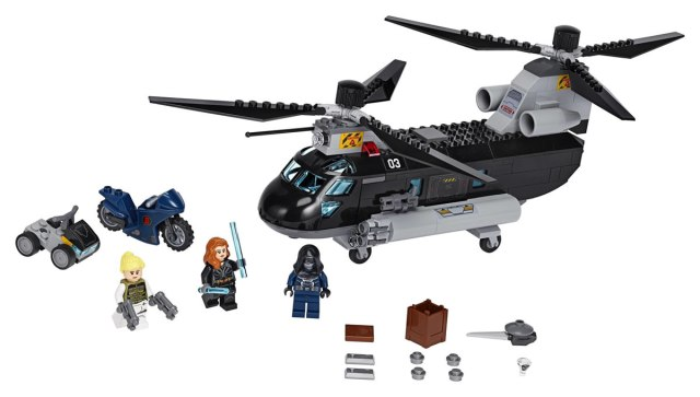 LEGO Marvel 76162 Black Widow