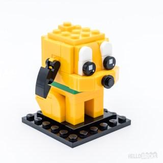 Review LEGO BrickHeadz 40378 Pluto & Goofy