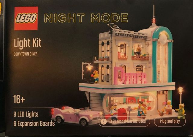 LEGO Night Mode Kit LED Modular Diner