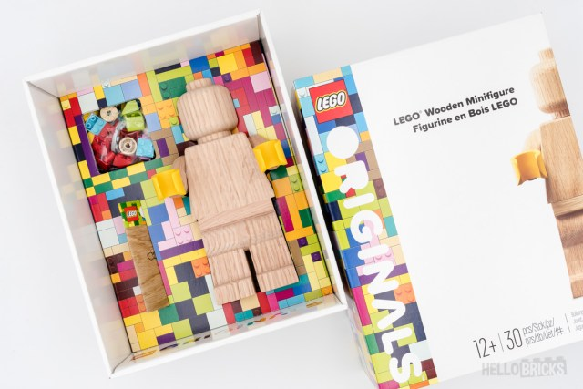 REVIEW LEGO Originals 853967 Wooden Minifigure
