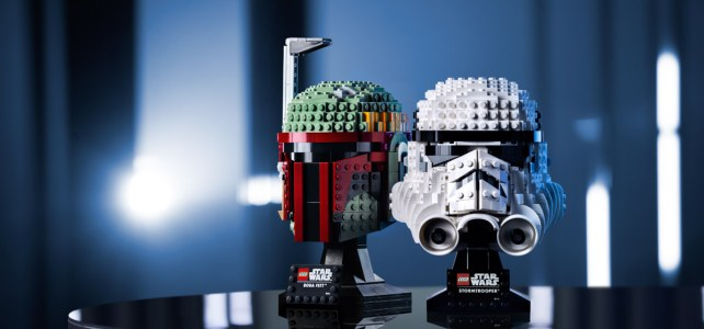 Casques LEGO Star Wars Helmets 2020