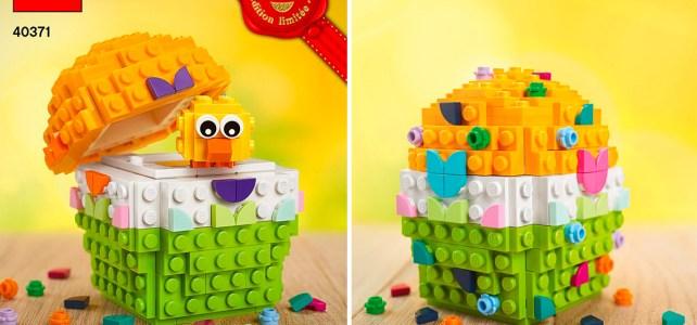 Bientôt offert chez LEGO : l'œuf de Pâques LEGO 40371 Easter Egg
