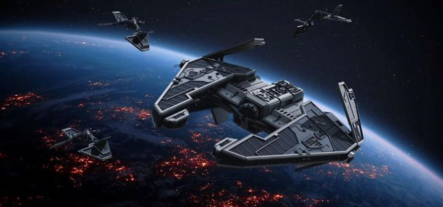 LEGO Star Wars Fury-class Imperial interceptor