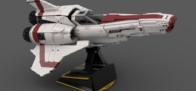 LEGO Battlestar Galactica Viper MkII