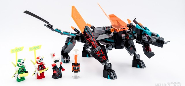 REVIEW LEGO 71713 Empire Dragon