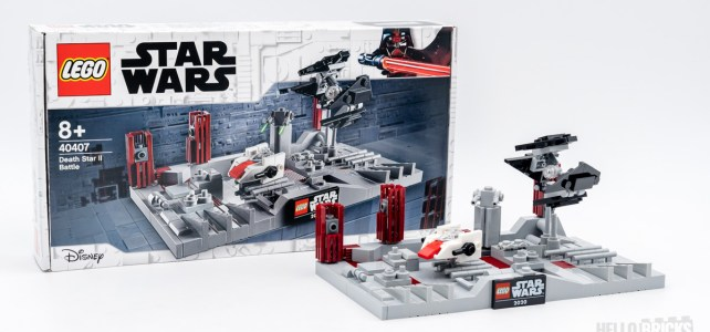 REVIEW LEGO Star Wars 40407 Death Star II Battle