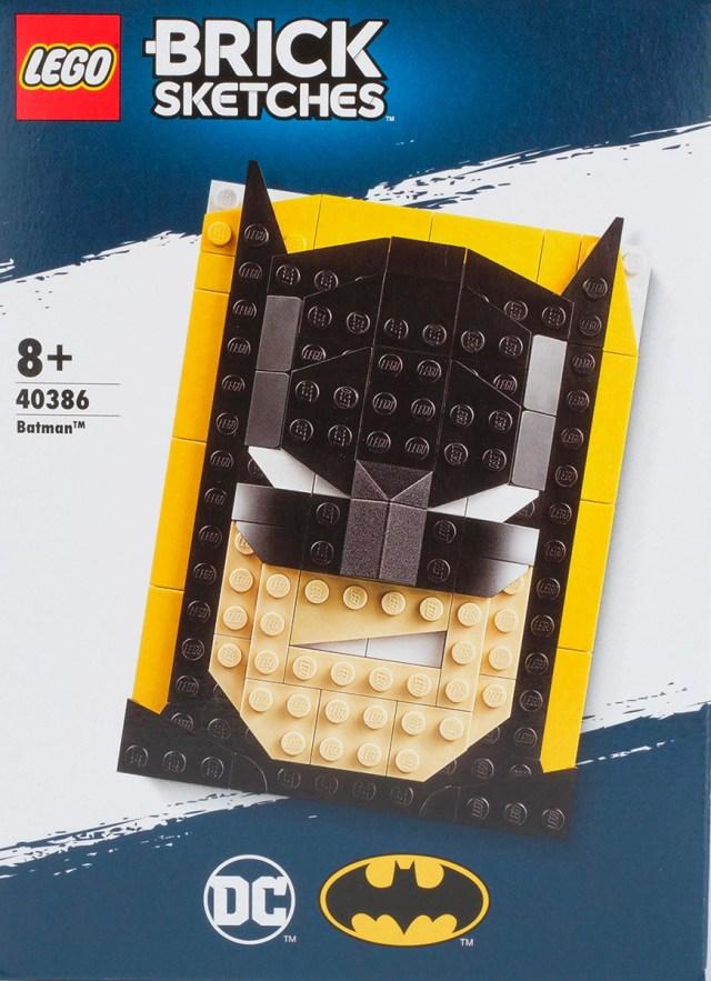 LEGO 40386Batman Brick Sketches