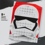 LEGO 40391 First Order Stormtrooper Brick Sketches