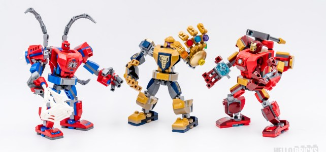 REVIEW LEGO Marvel 76140 76141 76146