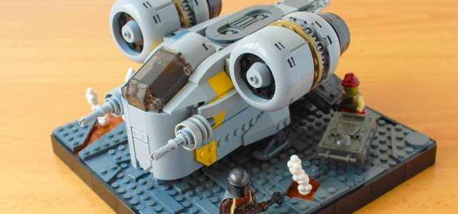 LEGO Chibi Razor Crest Mandalorian