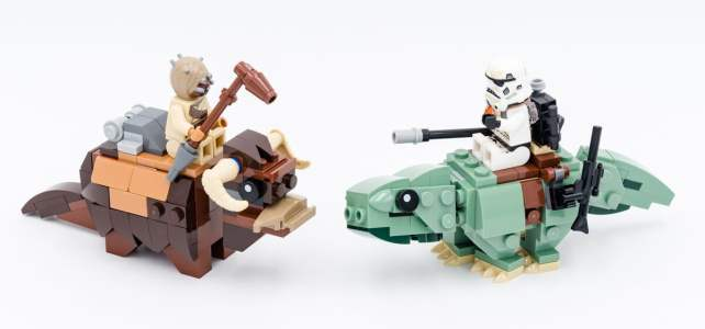 REVIEW LEGO Star Wars Microfighters 2020 : 75263 Resistance Y-Wing, 75264 Kylo Ren's Shuttle et 75265 T-16 Skyhopper vs. Bantha