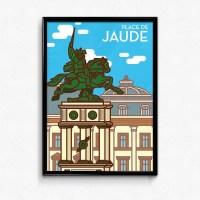 Affiche Place de Jaude