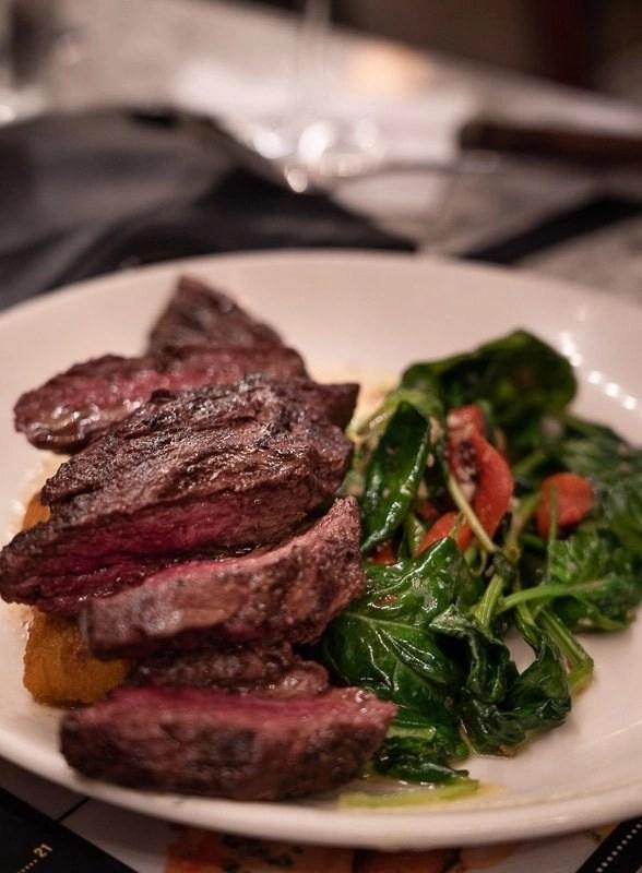 Dinner Royal Sonesta Hanger Steak