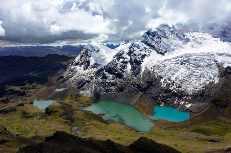Ausangate Mountain Peru Rainbow Mountain Trek