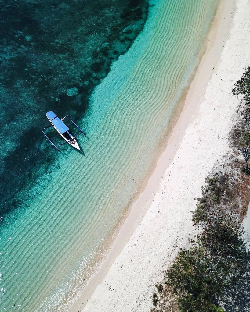 Blue Marlin Dive Site in Lombok Indonesia