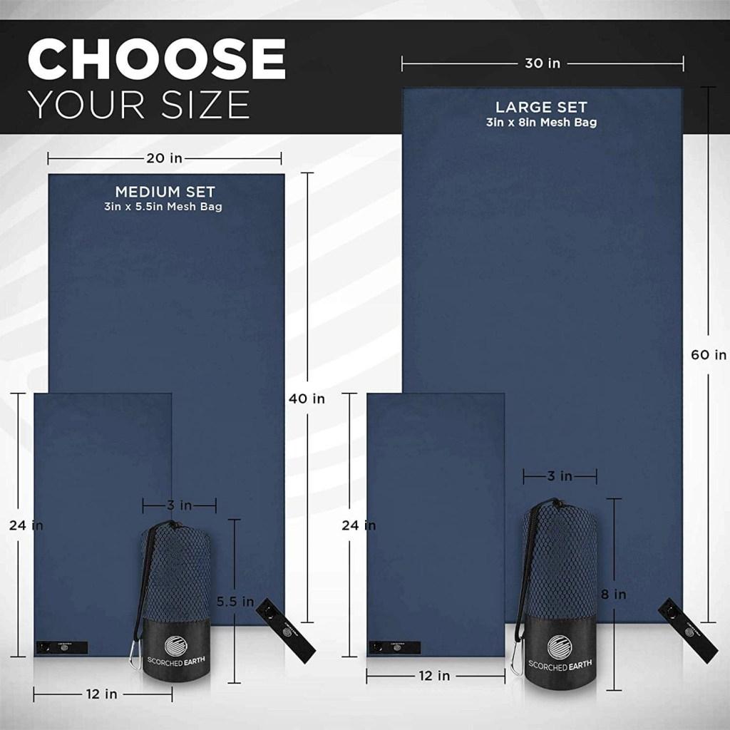 Microfiber Towel SimplySantos Travel Packing List