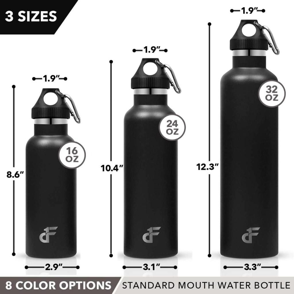 Reusable Water Bottle Travel Packing List