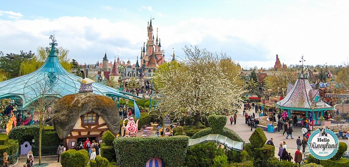 la meilleure saison pour aller à Disneyland Paris