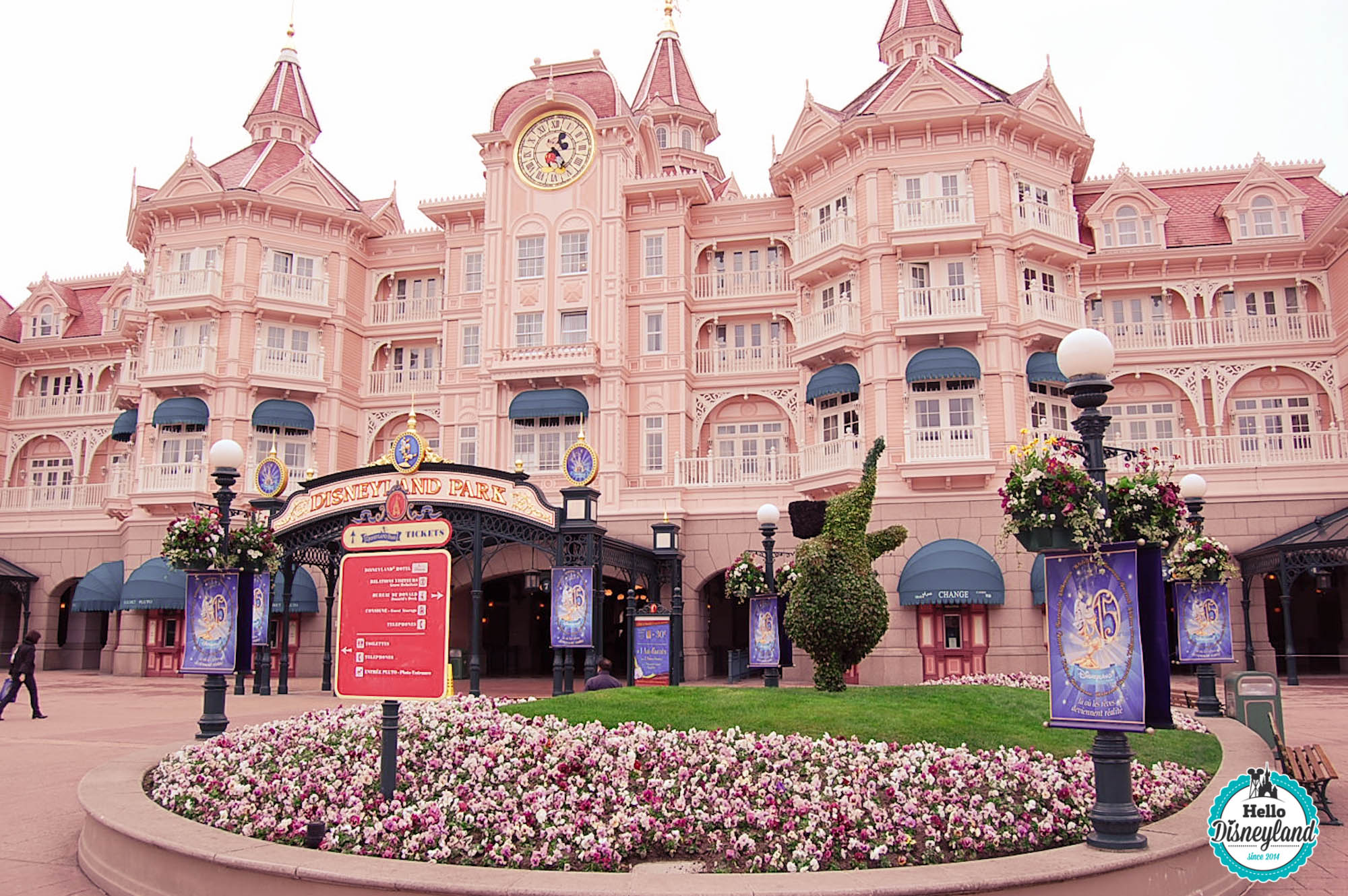 reservation hôtel disney avec entree parc